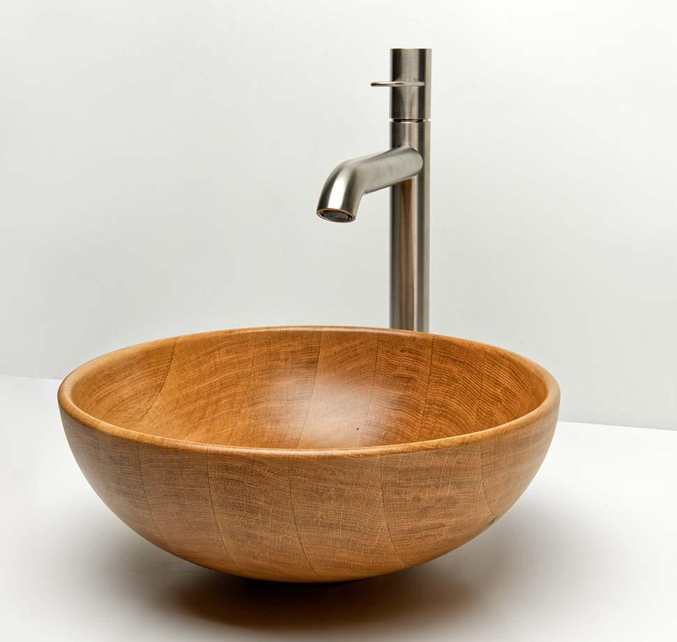 Vasque Marceau en chêne